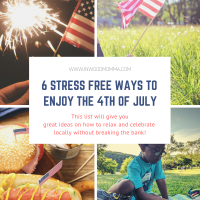 6 ways stress free ways to enjoy the 4th of July